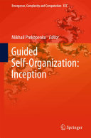 Guided Self-Organization: Inception Pdf