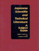 Japanese Scientific And Technical Literature