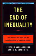 The End of Inequality