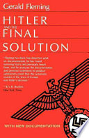 Hitler and the Final Solution