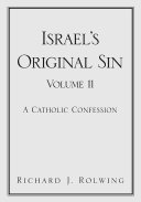 Pdf Israel's Original Sin, Volume II
