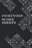 Dominoes Score Sheets