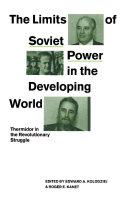 Limits of Soviet Power Pdf/ePub eBook