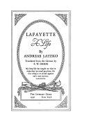 Lafayette  a Life