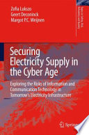 Securing Electricity Supply in the Cyber Age Book