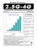 2 5 4G Monthly Newsletter September 2010