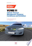 Vehicle Thermal Management Systems Conference Proceedings Vtms11  Book PDF