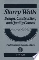 Slurry Walls