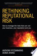 Rethinking Reputational Risk
