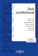 Pdf Droit constitutionnel 2021 - 23e ed. Telecharger