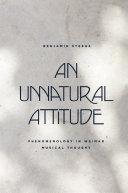 An Unnatural Attitude