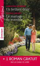 Pdf Un brulant désir - Le mariage du scandale - Rendez-vous avec le destin Telecharger
