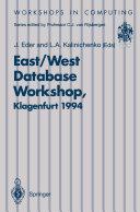 East West Database Workshop