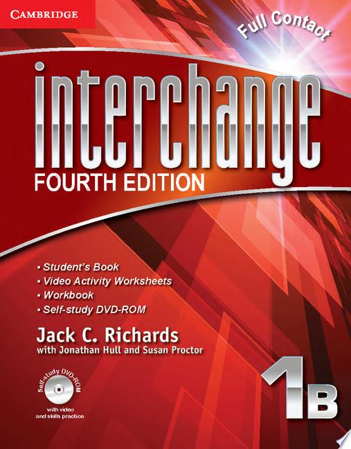 Interchange Level 1 Full Contact B with Self study DVD ROM