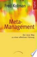 Meta-Management  : der neue Weg zu einer effektiven Führung