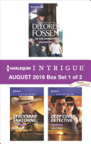 Harlequin Intrigue August 2016   Box Set 1 of 2
