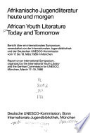 African Youth Literature Today and Tomorrow