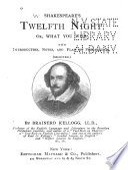 Shakespeare s Twelfth Night