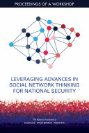 Pdf Leveraging Advances in Social Network Thinking for National Security Telecharger