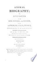 Animal Biography Book PDF