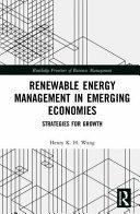 Renewable Energy Management in Emerging Economies