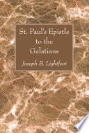 St Paul S Epistle To The Galatians