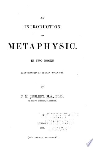 An Introduction to Metaphysic Ebook - barabook