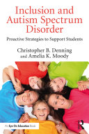 Inclusion and Autism Spectrum Disorder