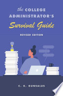 The College Administrator S Survival Guide