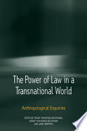 The Power Of Law In A Transnational World Book PDF