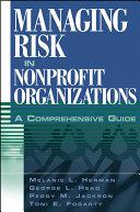 Managing Risk in Nonprofit Organizations Pdf/ePub eBook