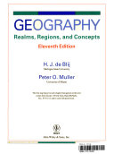 Wcsworld Regional Geography 11th Edition with Lecture Notes for Tarrant County College