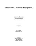 Professional Landscape Management