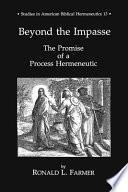 Beyond The Impasse Book PDF