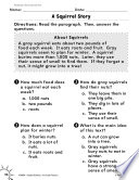 Reading Informational Text Reading Comprehension Practice