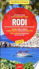 Guida Turistica Rodi. Con atlante stradale Immagine Copertina
