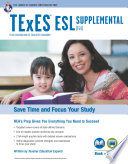 Texas TExES ESL Supplemental (154) Book + Online