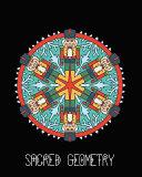 Sacred Geometry  Nutcracker Mandala Art Journal Cover  Cornell Lined Notebook   Geometric Design for Yoga  Meditation  Dream Diary Or N