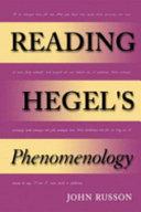 Reading Hegel s Phenomenology