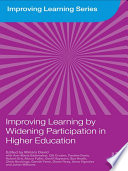 Improving Learning by Widening Participation in Higher Education Book