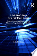 A Fair Day   s Wage for a Fair Day   s Work