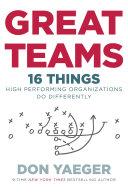 Great Teams Pdf/ePub eBook