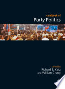 Handbook of Party Politics