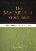 NIV, The MacArthur Study Bible, eBook