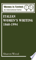 Italian Women S Writing 1860 1994
