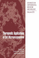 Therapeutic Applications of Cell Microencapsulation