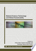 Material Science Technology and Global Sustainability