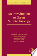 An Introduction to Green Nanotechnology Book