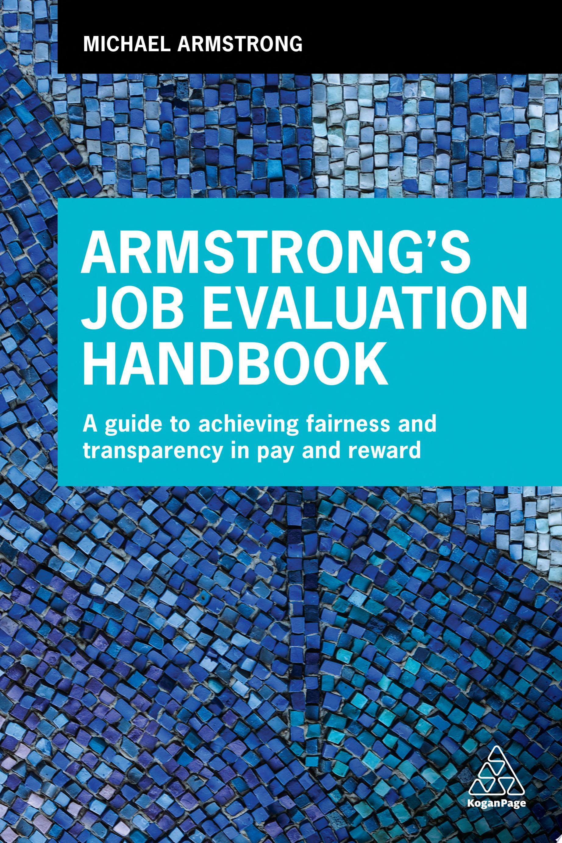 Armstrong s Job Evaluation Handbook