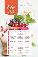30 Day Challenge Paleo Diet Meal Planner